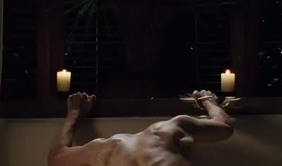 #365DoR Day 6 Shirtless Rob Pic #BD1 headboard updated link