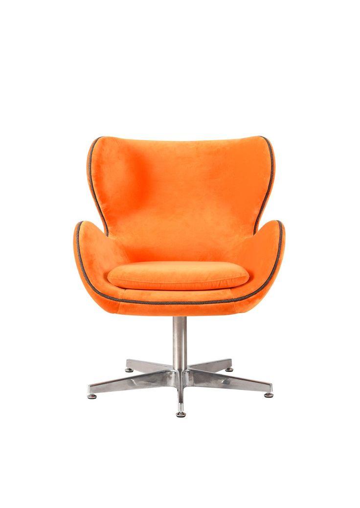 Orange Kapow Velvet Chair Pink Desk Chair Brown Leather Recliner Chair Chair