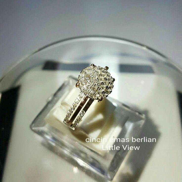 New Arrival🗼. Cincin Emas Berlian Little View💎💍.   🏪Toko Perhiasan Emas Berlian-Ammad 📲+6282113309088/5C50359F Cp.Antrika👩.  https://m.facebook.com/home.php #investasi#diomond#gold#beauty#fashion#elegant#musthave#tokoperhiasanemasberlian