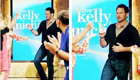 When he made this rhythmic entrance: | 21 Times We Fell In Love With Chris Pratt This Summer