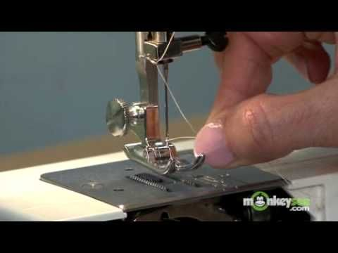How to thread a sewing machine - for beginners like me