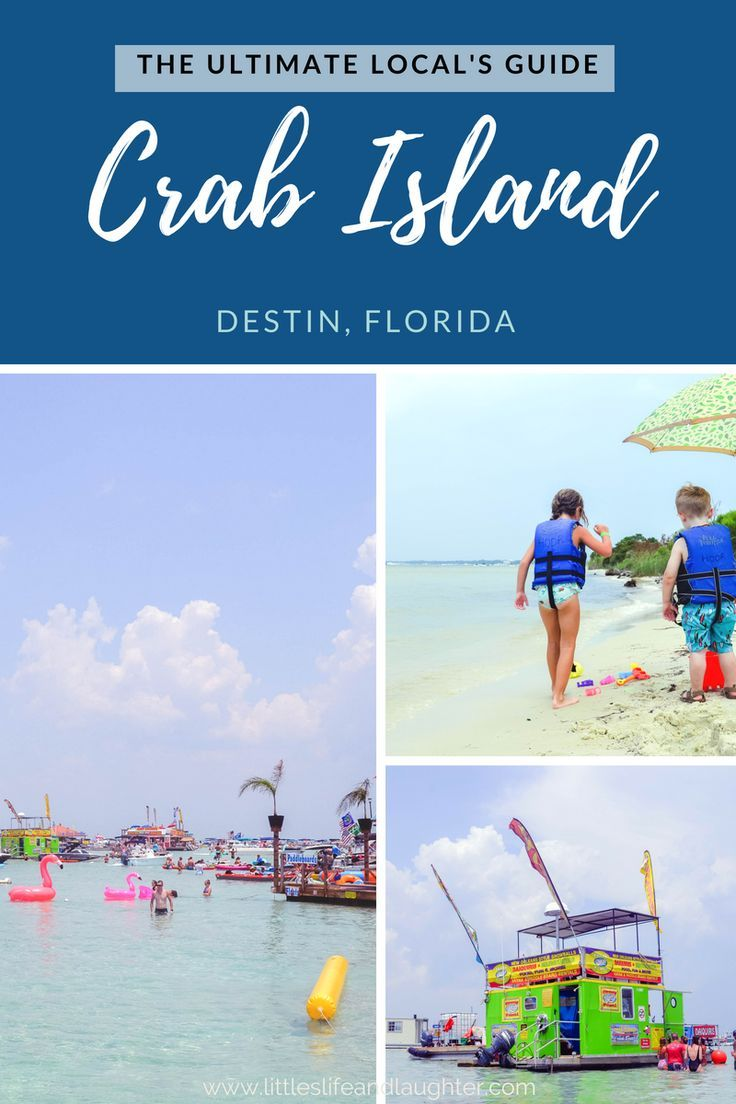 Crab Island In Destin Florida What Locals Don T Tell You Florida Vacation Beach Vacation Tips Destin Florida Vacation