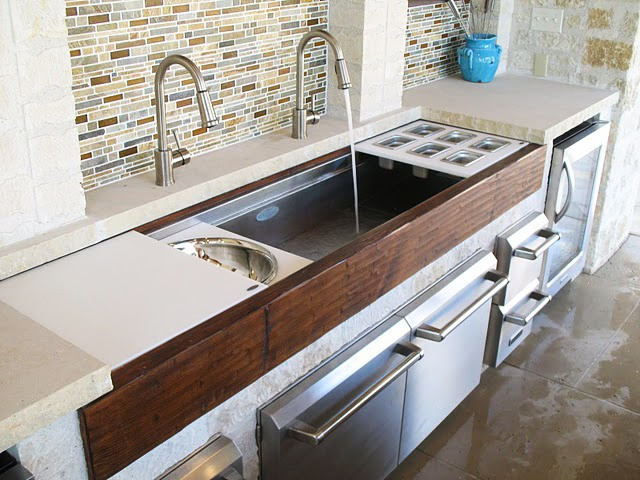 110 best images about new kitchen ideas on pinterest for Galley kitchen sink