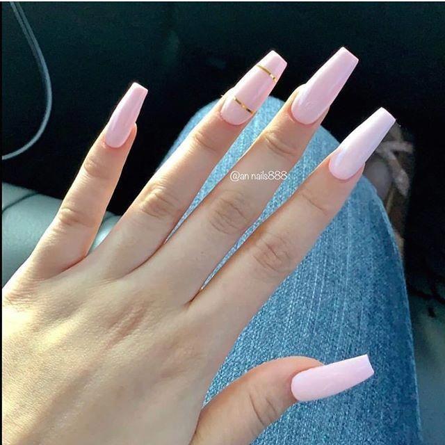 Nail Art Designs Pink Nails Acrylic Nail Art Ideas Nailart Glitter Nails Glitter Nail Art Desi In 2020 Pretty Nail Art Designs Purple Acrylic Nails Pretty Nail Art