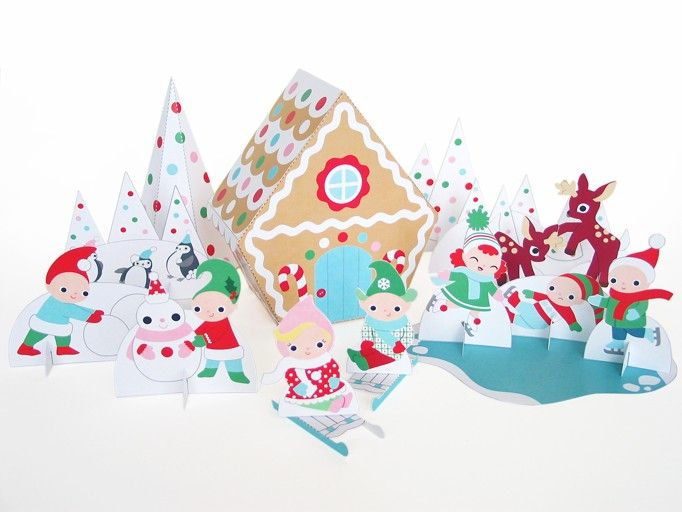 17 best images about julehobby on pinterest crafts for Printable christmas craft ideas