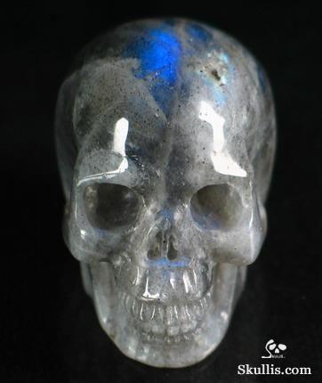 Moonstone Crystal Skull