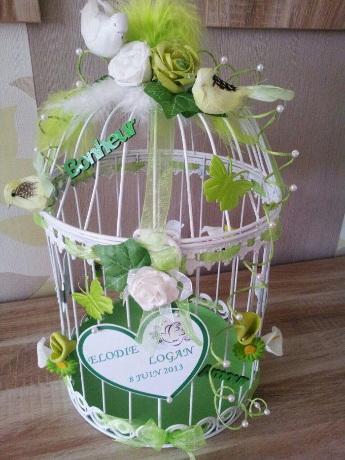 """Image - Urne mariage cage oiseaux - """"La copie n'est pas un art !! """" l'imitation... - Skyrock.com"""