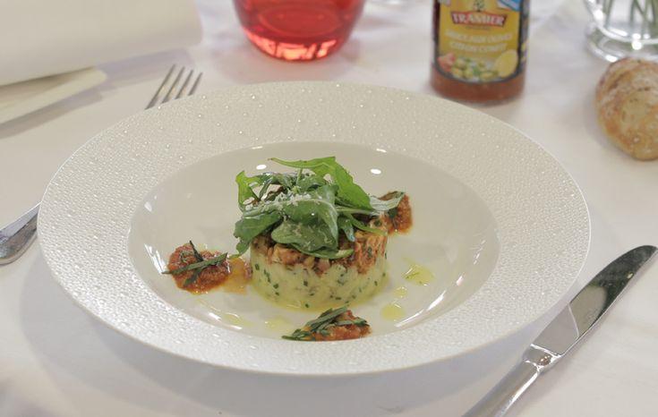 """Mitonné de poulpe sauce aux olives """"citron confit"""" #recette #poulpe"""