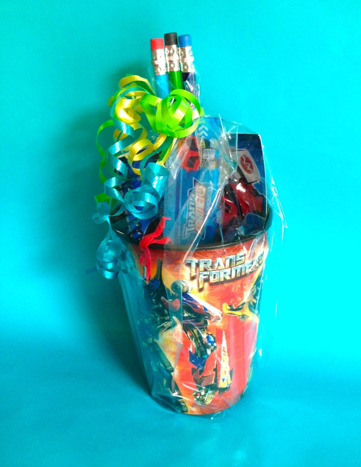 Transformers Party Favor by LittleArtistShop on Etsy, $4.25