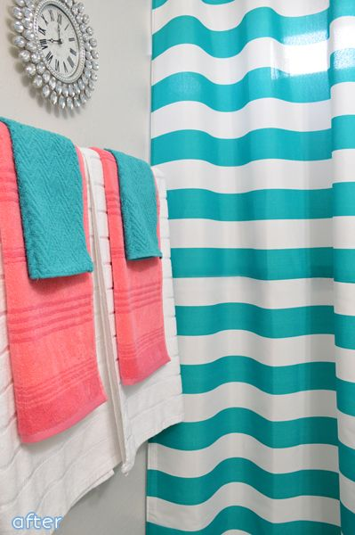 Best Girl Bathroom Decor Ideas On Pinterest Girl Bathroom - Turquoise bath towels for small bathroom ideas