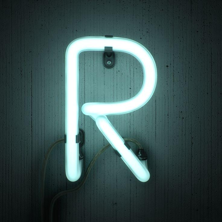 Neon R on Behance