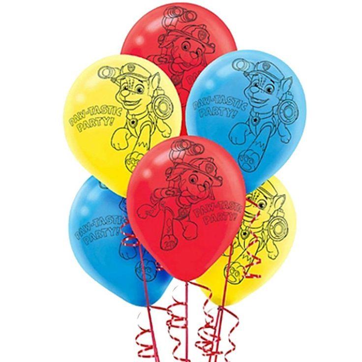 PAW Patrol Printed Latex Balloons (6) by Amscan