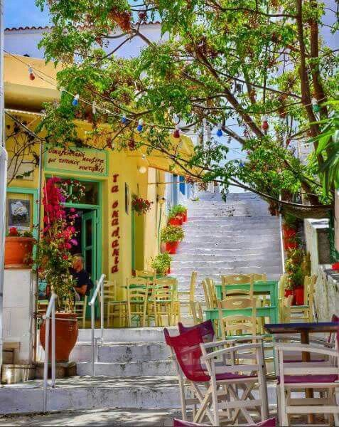 Andros island, Cyclades, Greece