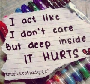 Feeling Hurt Inside Quotes Images