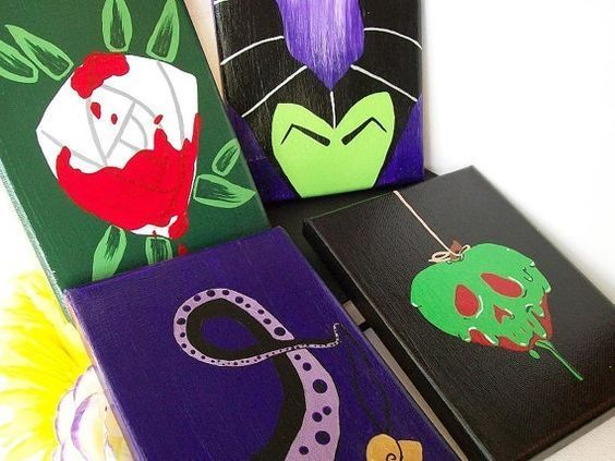 Decorate a room with pop art and Disney Villains. – Dweller