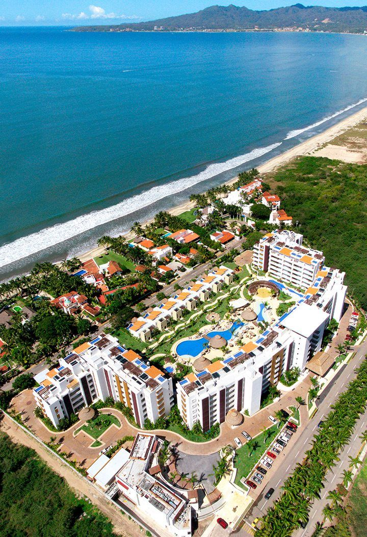 We went way up just to bring you this picture! Marival Residences Luxury Resort®