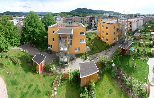 World-Leading Sustainable Community in Germany: Vauban District