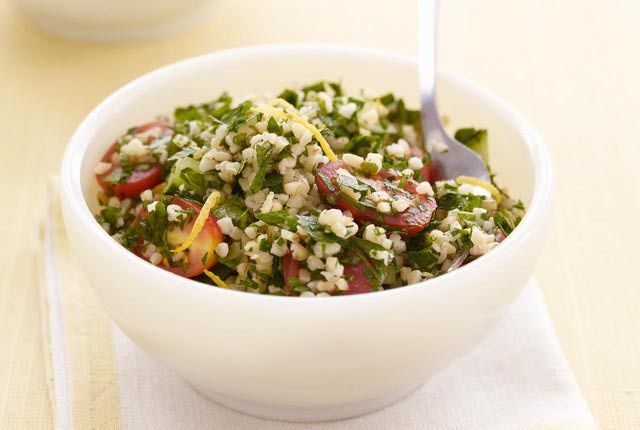 Tabouleh Salad Makes a Zesty Meal