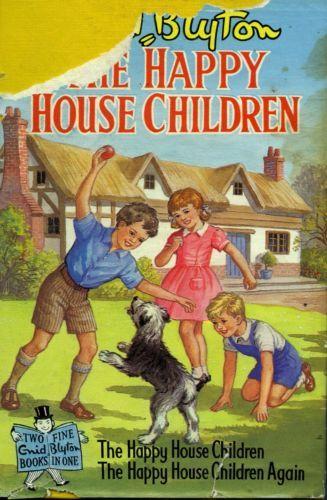 The-Happy-House-Children-by-Enid-Blyton-FREE-AU-POST-Used-Vintage-Illustrated-HB  www.sleepybearbooks.com