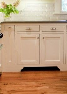 Exceptional Furniture Base Cabinet Look. Also Paint Toe Kick A Dark Grey.