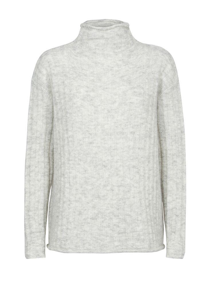 Carde Wool-blend Sweater   Custommade.dk