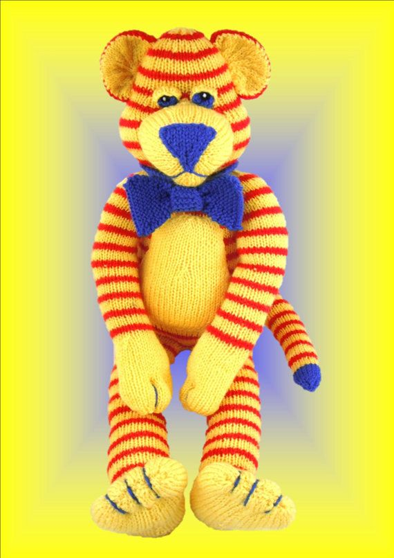 Buddy The Rare Blue Nosed Tiger  Original by LynneColesCreations, $4.00