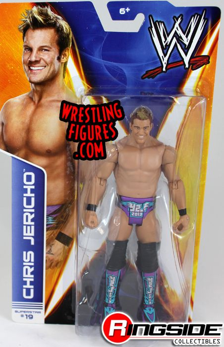 Toys For Chris : Chris jericho wwe series ringside collectibles