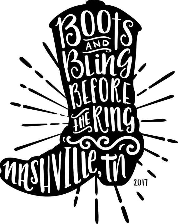 Nashville Bachelorette Shirt Digital Download Cricut SVG