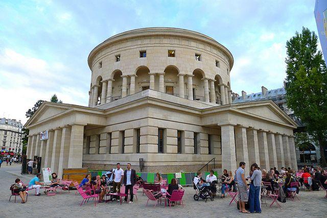 Restaurant La Rotonde, Place de la Bataille-de-Stalingrad, Paris 19e