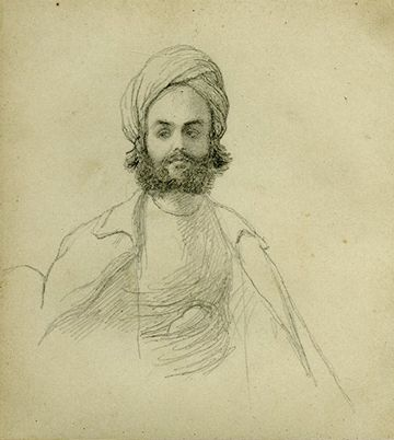 Azimullah Khan Yusufzai (1830-1859), was initially appointed Secretary, and later Prime Minister to Nana Sahib. Azimullah Khan was involved in the Indian Mutiny of 1857, primarily ideologically, influencing important nobles such as Nana Sahib, who was involved in a long drawn out appeal to the British East India Company to restore to him the £80,000 annual pension that his father (exiled to the Kingdom of Oudh) had been granted. He chose Azimullah to go to England in 1853 to plead his case.