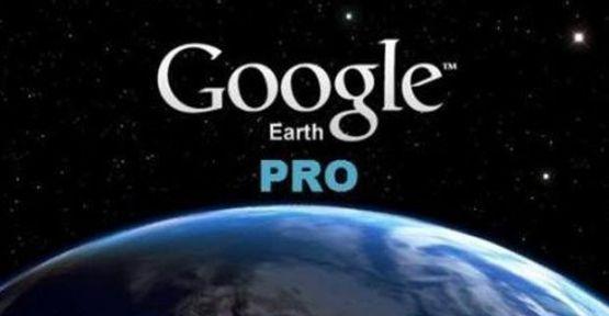 Google 400 dolarlık Google Earth Pro'yu ücretsiz verecek!