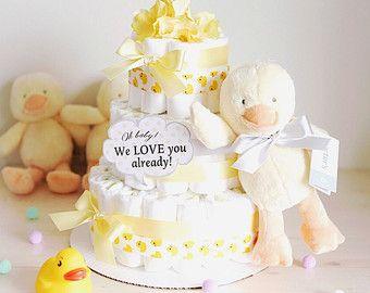 Rosa y oro princesa MINI pastel de pañales / decoraciones