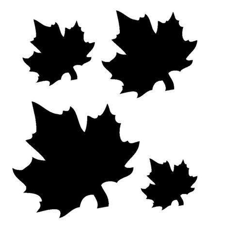 Maple leaves stencil wood burning pinterest leaf