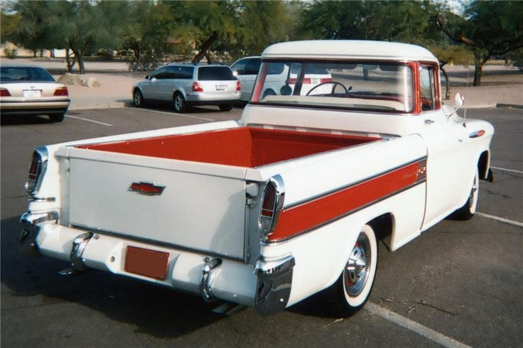 Sold* at Scottsdale 2010 - Lot #75.1 1957 CHEVROLET CAMEO PICKUP