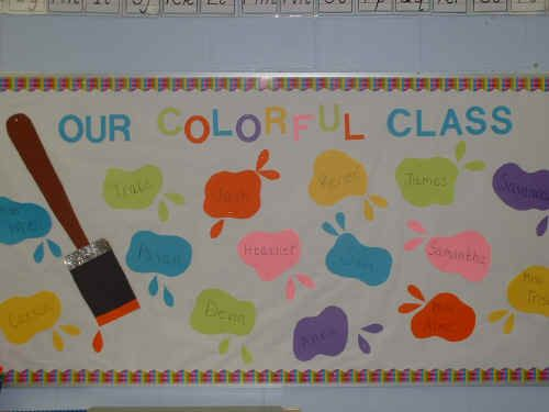 beginning of the school year bulletin boards | used this bulletin board at the beginning of the school year, but it ...
