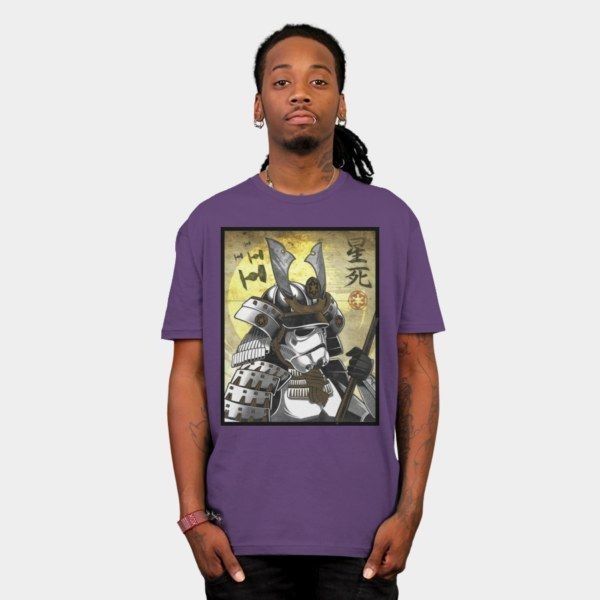 Samurai Stormtrooper T-Shirt - Star Wars T-Shirt
