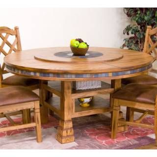 179 best Tables with built in Lazy Susans images on Pinterest