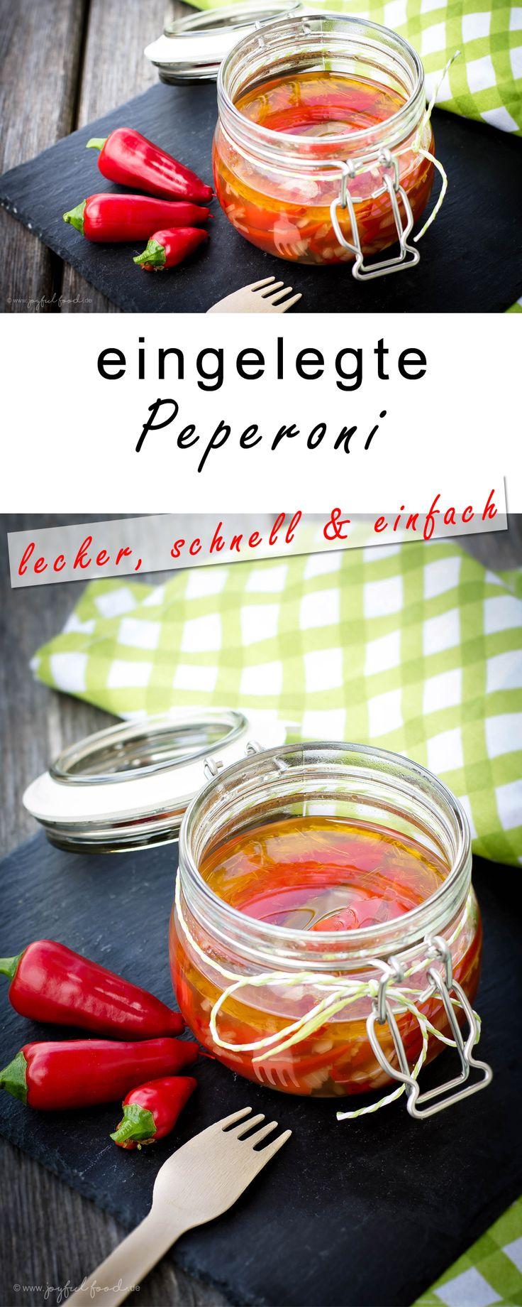 Selbst eingelegte Peperoni aus dem eigenen Anbau. So lecker und so einfach und schnell gemacht! auch für Paprika, Chili oder Habaneros geeignet.  #Paprika #Peperoni #Chili #Habanero #eingelegt #homemade #einlegen #eingelegtePeperoni #BBQ #Grillen
