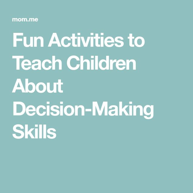 Fun Activities to Teach Children About Decision-Making Skills