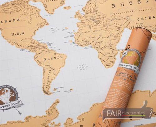 Weltkarte-grosse-Scratch-Map-Rubbel-Poster-zum-freirubbeln-fuer-Entdecker-Geschenk