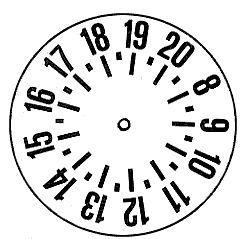 disco orario fai da te - Cerca con Google