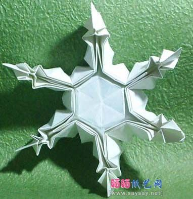 Origami Christmas Star — Crafthubs