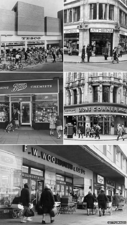 British High Street Nostalgia