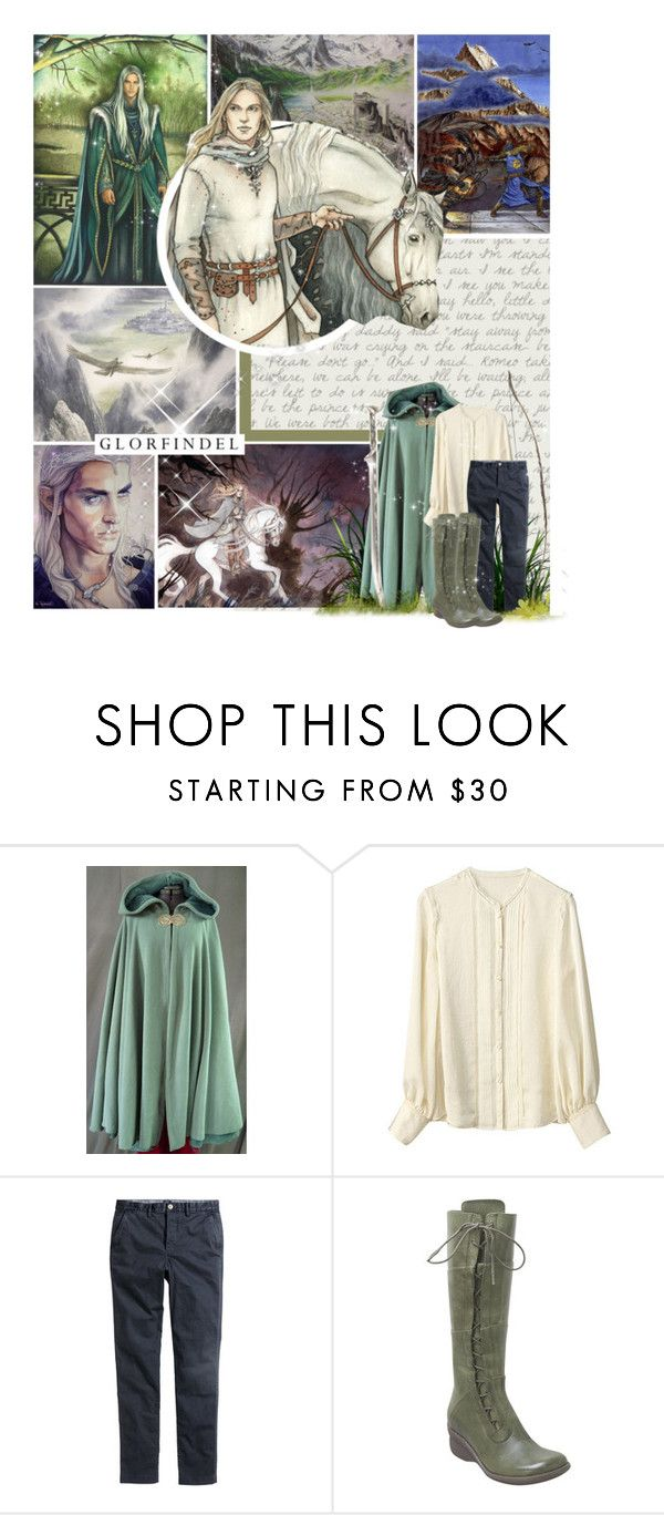 """Glorfindel from Gondolin"" by lejournaldessecrets ❤ liked on Polyvore featuring мода, Keita Maruyama, H&M, Miz Mooz, lordoftherings, Thelordoftherings, elves, tolkien и glorfindel"