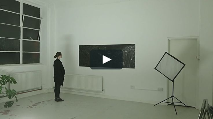 Schwarzlicht 200cm x 80cm, MDF, Digital projection on Acrylic and Graphite  Schwarzlicht is an interactive piece that uses 2D projection mapping and sound reactivity…