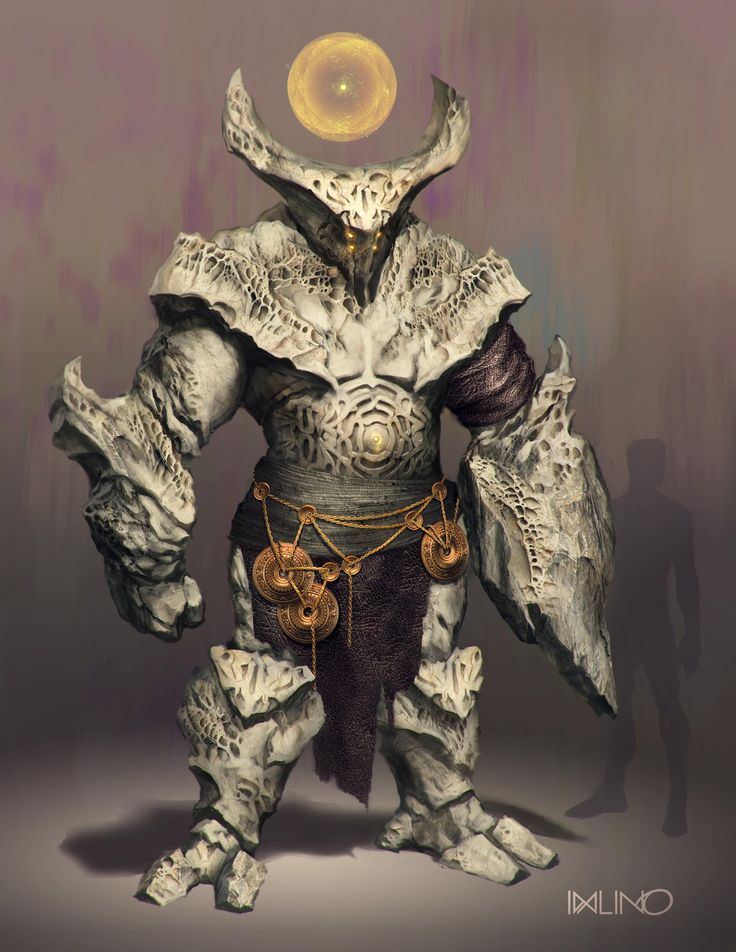 ArtStation - Ancient temple guard, Rodrigo Idalino