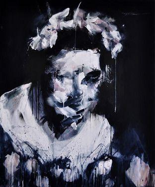"Saatchi Online Artist Miroir Noir; Painting, ""Bride Series: I want to marry you"" #art"