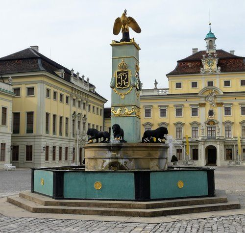 Ludwigsburg Schloss (Palace), Germany.
