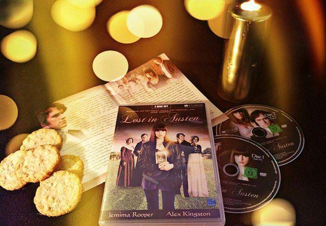 Wir haben heute ein Date mit Mr. Darcy. Lost in Austen entführt ein Mädchen aus unserer Zeit direkt in die Welt von Stolz und Vorurteil. Wünschen Euch noch einen schönen Abend. #bbc #janeausten #mrdarcy #tvseries #romantisch #charming