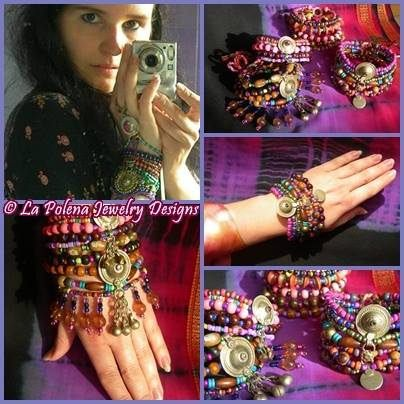 https://flic.kr/p/Pf3bwj | Messantia bracelets | Hand made unqiue designs. Turkoman button bracelets.